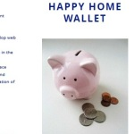 Happy Home Wallet Leaflet