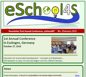 eSchool4S-1st-Newsletter